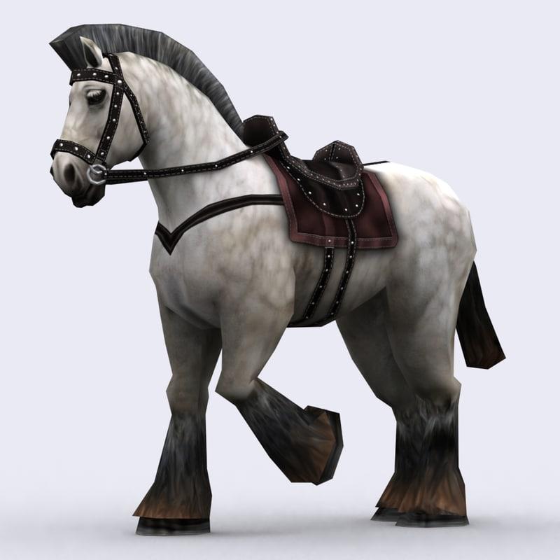 3DRT - Fantasy Mounts Animals - Horse