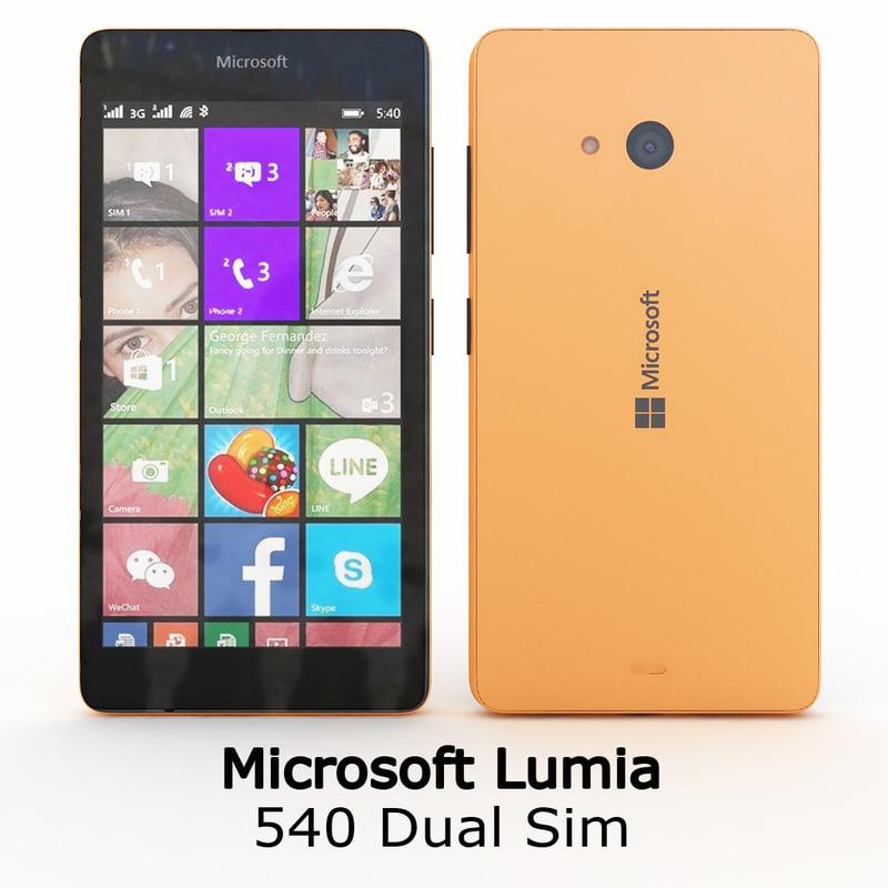 Microsoft Lumia 540 Dual Sim Orange