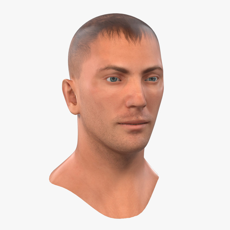 Caucasian Male Head 3d model 01.jpg