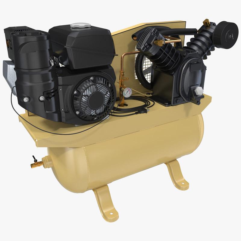 Piston Air Compressor 3d model 01.jpg