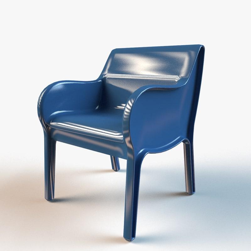 Max Designer Plastic Molded Chair