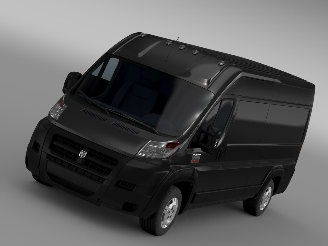 Ram Promaster Cargo 3500 HR 159WB EXT 2015