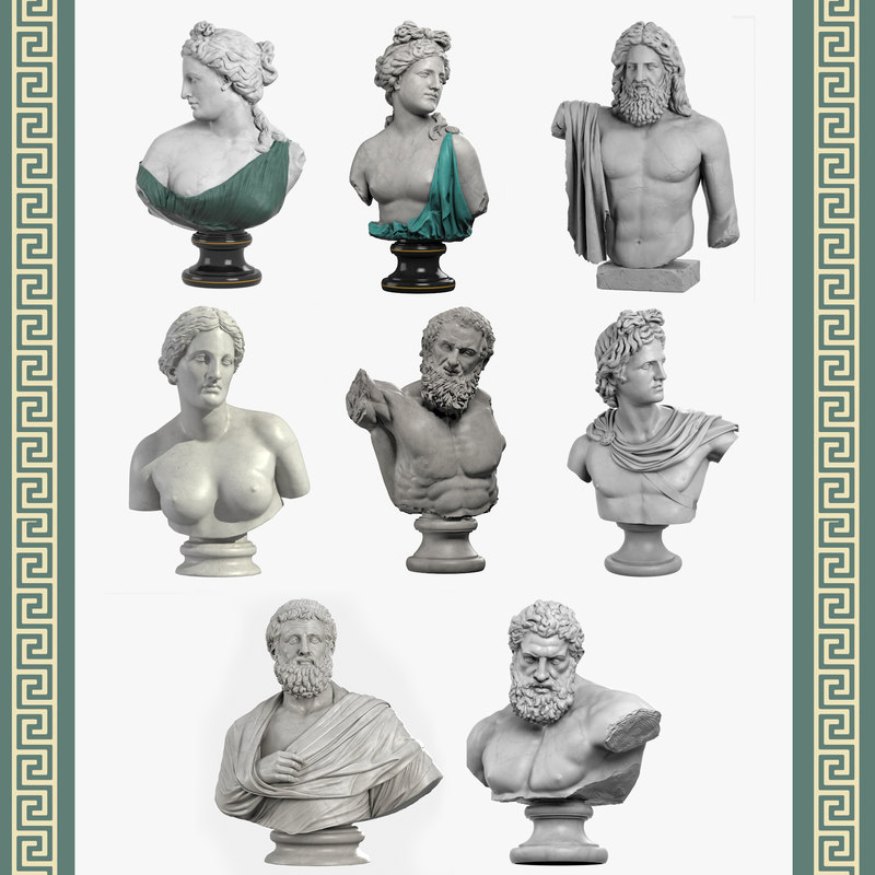 Classical Bust Collection II