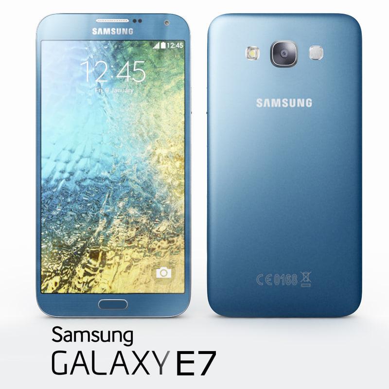 Samsung Galaxy E7 Blue