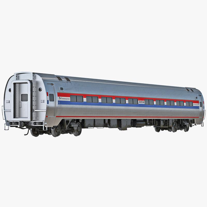 3d model of Railroad Amtrak Passenger Car 01.jpg