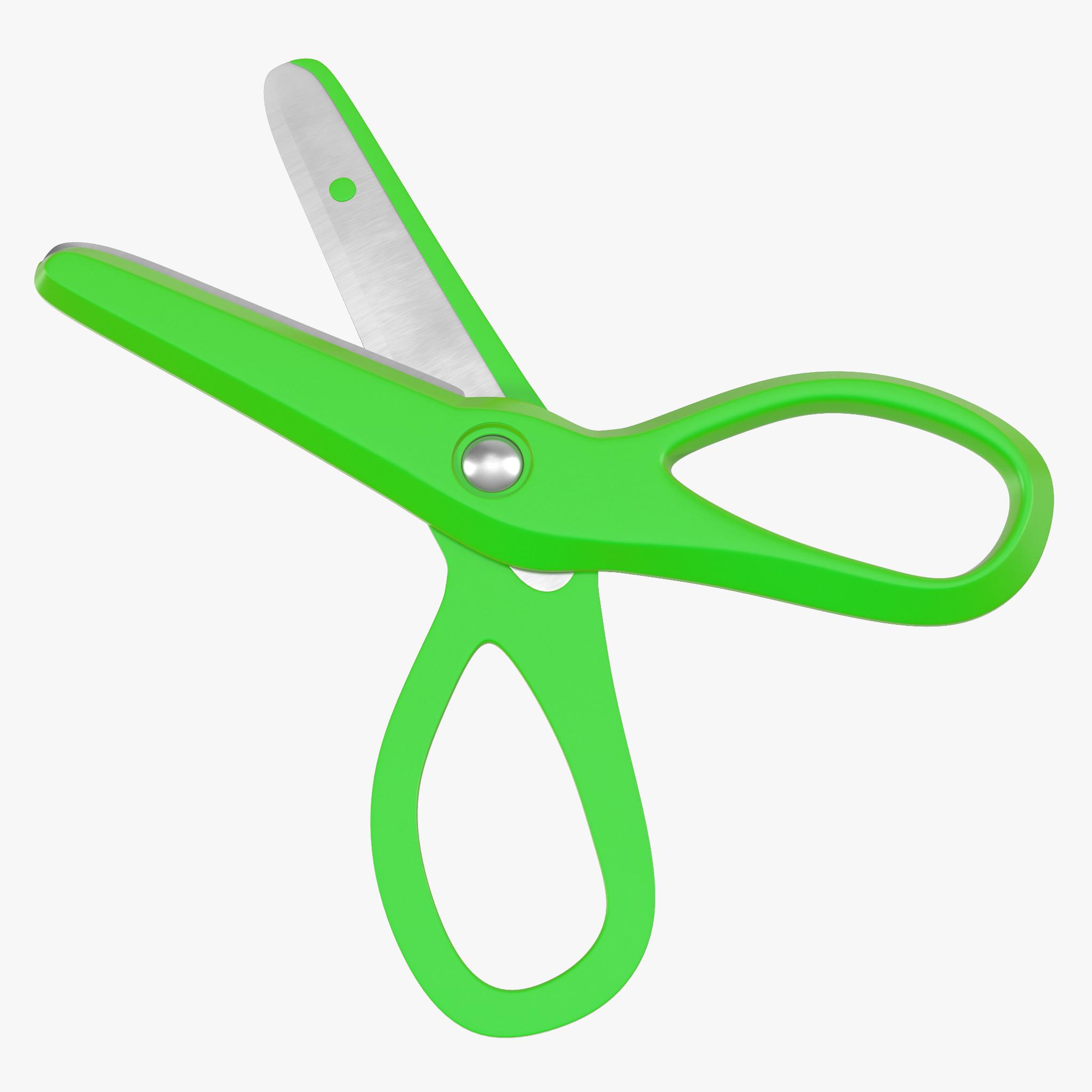 3d model of Green Scissors 01.jpg