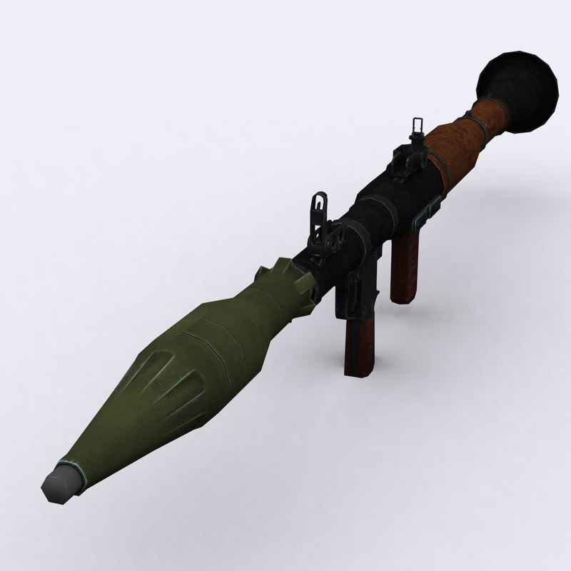 3DRT - Modern Firearms - RPG-7