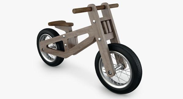 Balance Bike 3D Models