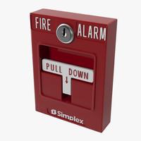 Fire Alarm 3D models