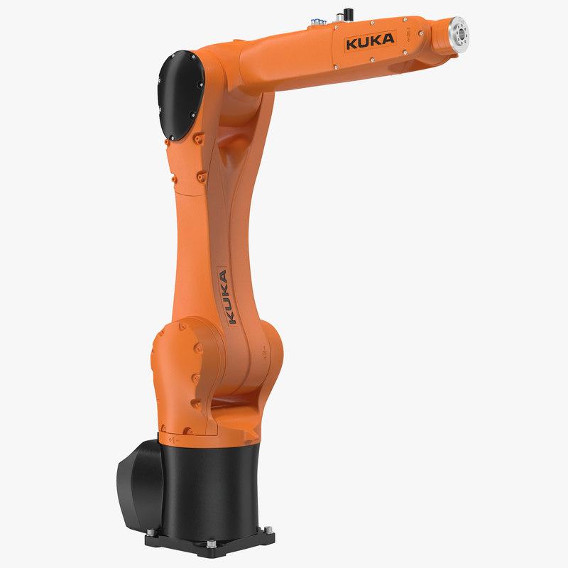 Kuka Robot KR 10 R1100 3d model 01.jpg