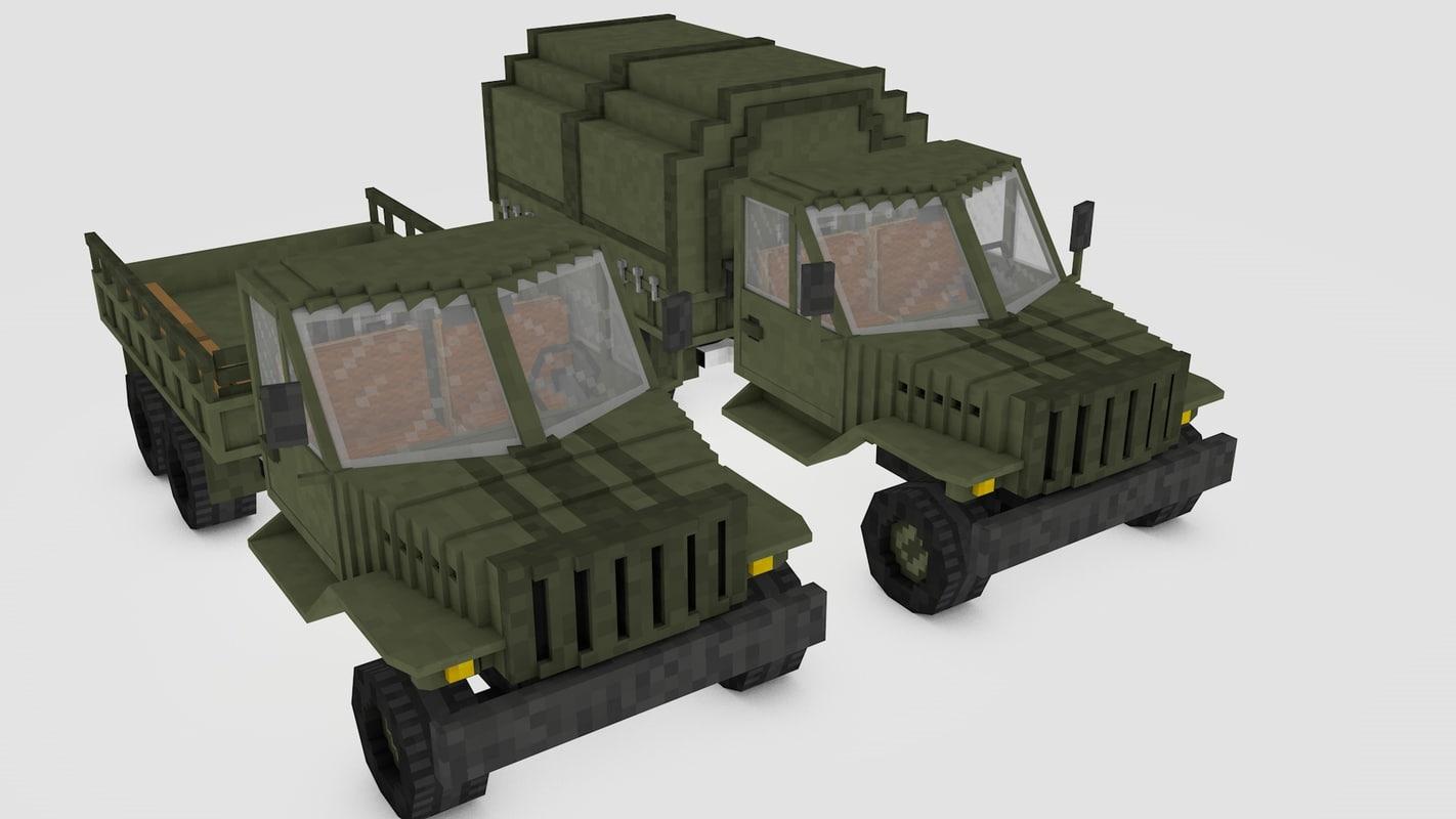Minecraft Ural 4320