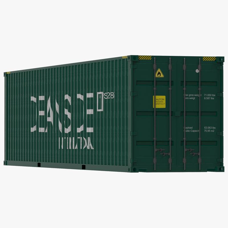 40 ft High Cube Container Green