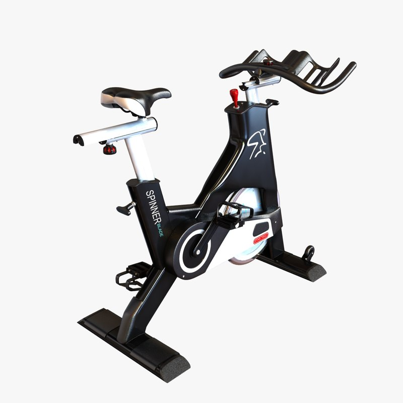 Gym stationary bicycle