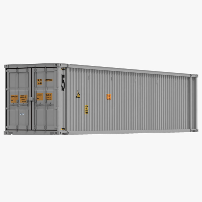 45 ft High Cube Container White