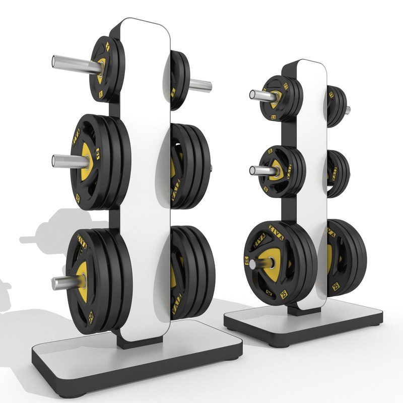 max barbell storage station