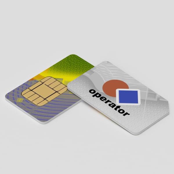 SIM card 3D Models