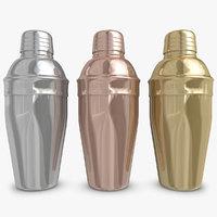 Cocktail Shaker 3D models