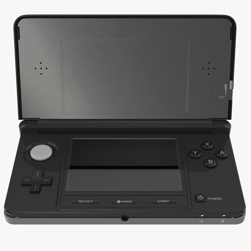 3d model of Nintendo 3DS Black 02.jpg