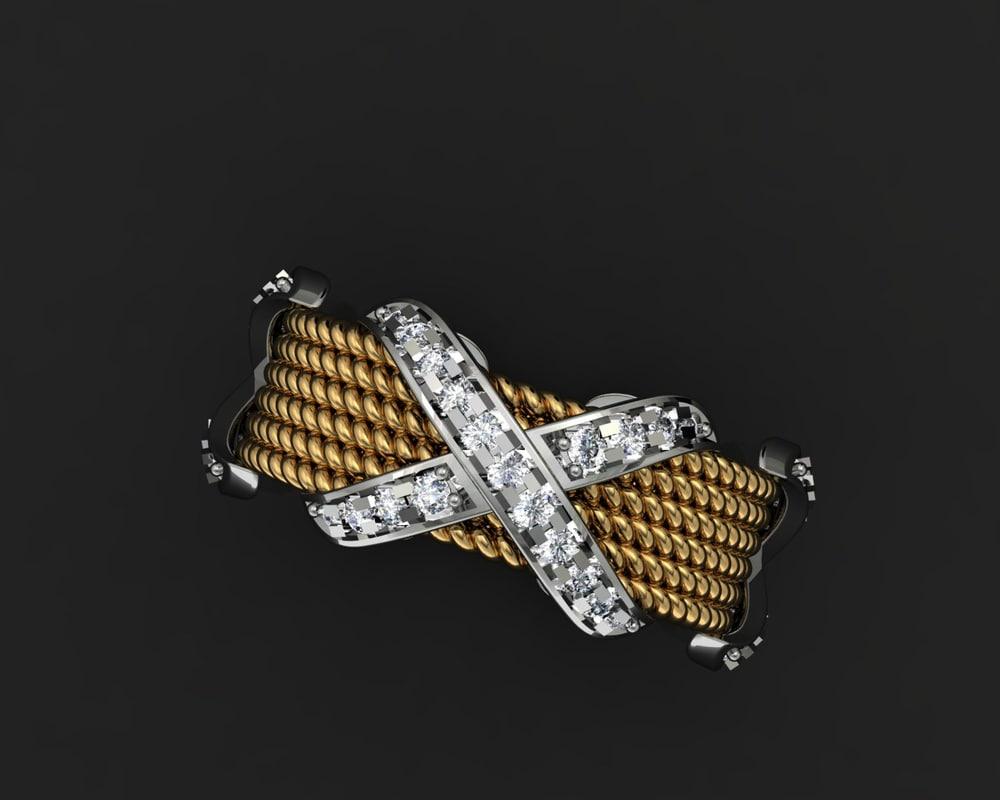 3d model jewellery tiffany