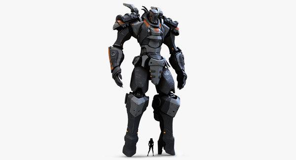 Mech (No Weapons) 3D Models