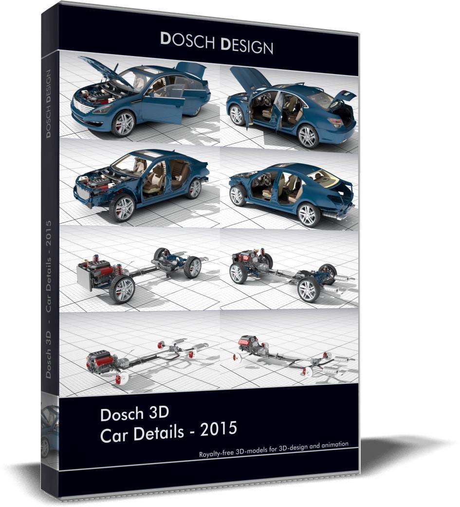car details 2015 3d 3ds