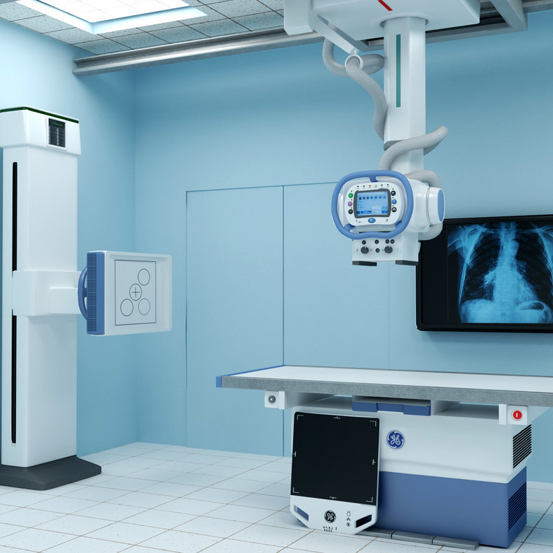 3d x ray room optima xr646 for X ray room design