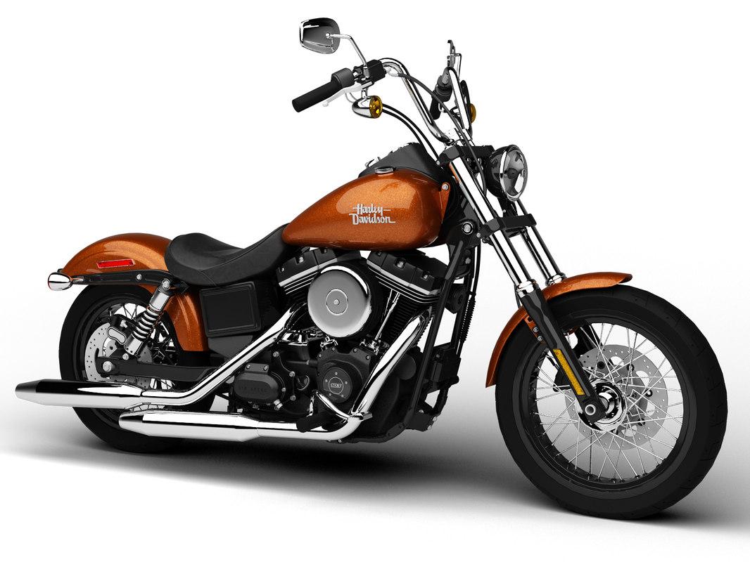 Harley-Davidson FXDB Dyna Street Bob 2015