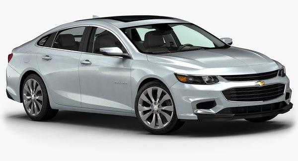 2016 Chevrolet Malibu 3D Models