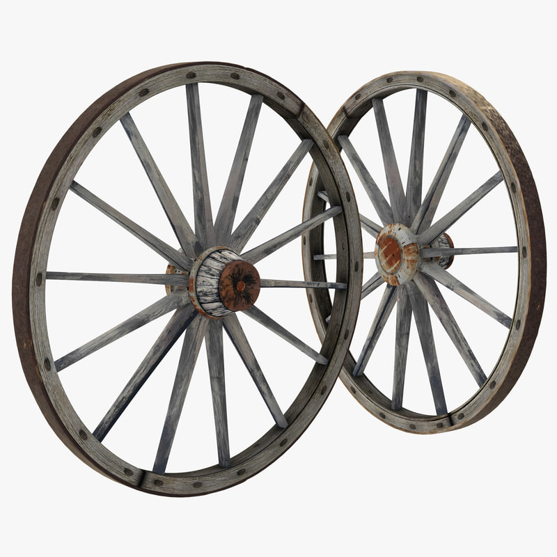Max old wooden wagon wheel for Wooden carriage wheels