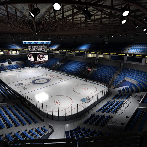 Ice Hockey Stadium 3D Models