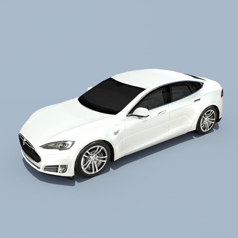 Tesla Model S Solid White