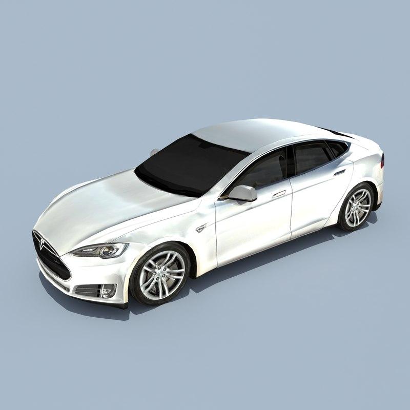 Tesla Model S Pearl White
