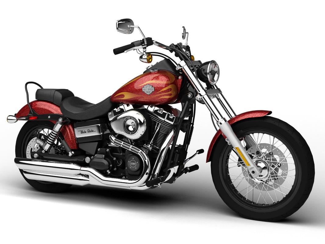 Harley-Davidson FXDWG Dyna Wide Glide 2015