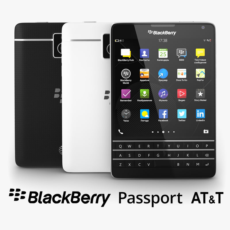 Blackberry Passport AT&T;