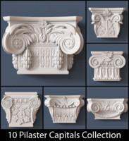 pilaster 3D models