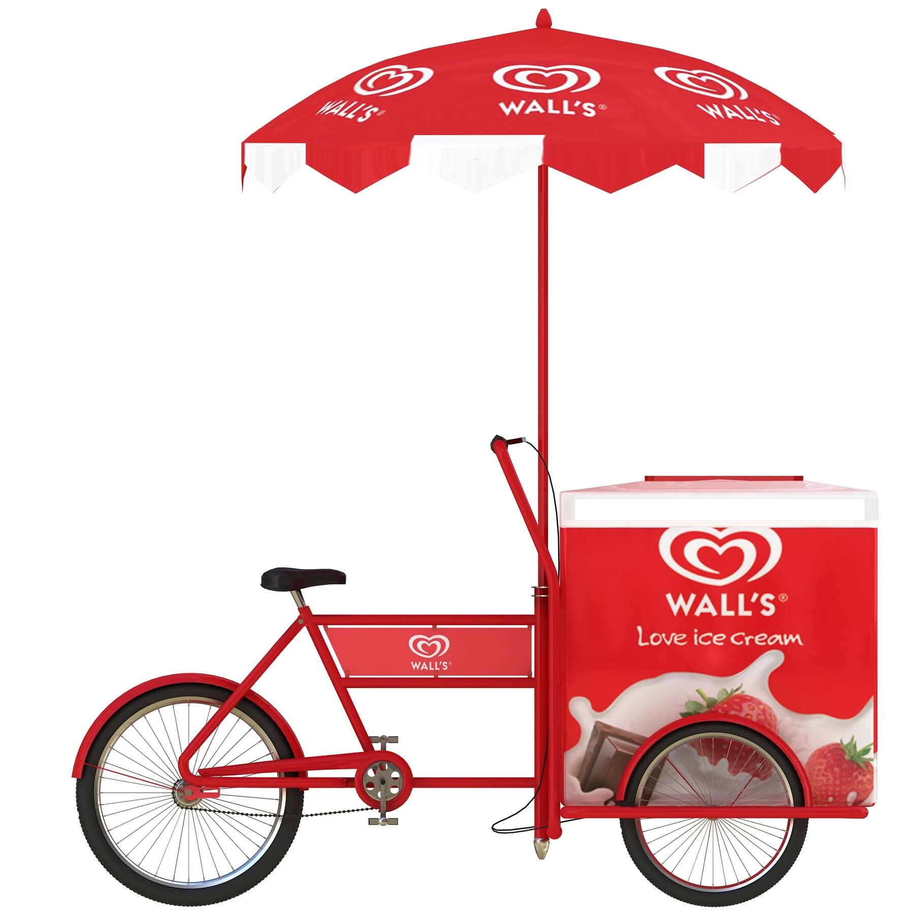 Wall's Ice Cream Cart