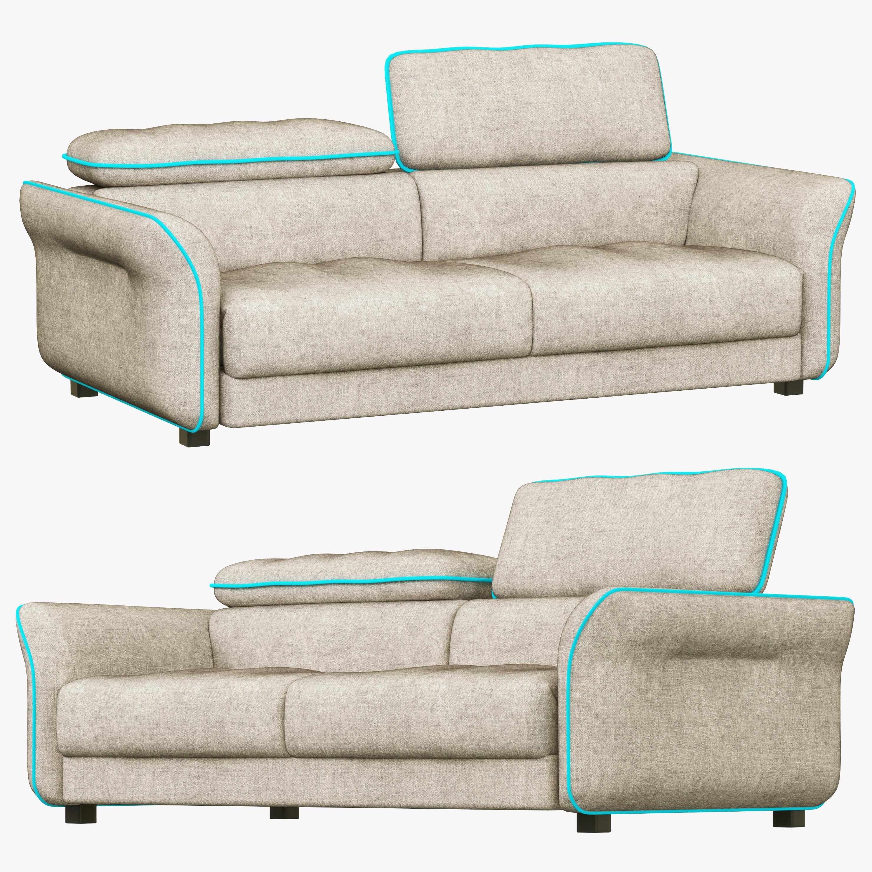 Hasta Sacramento sofa
