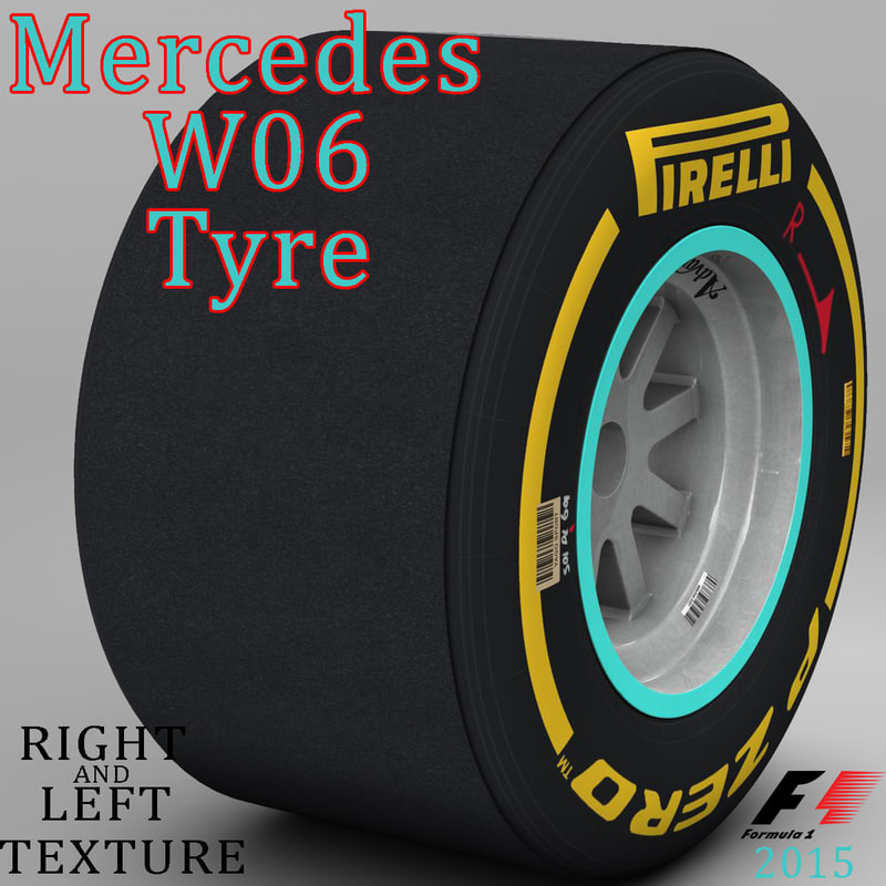 W06 Soft Rear Tyre