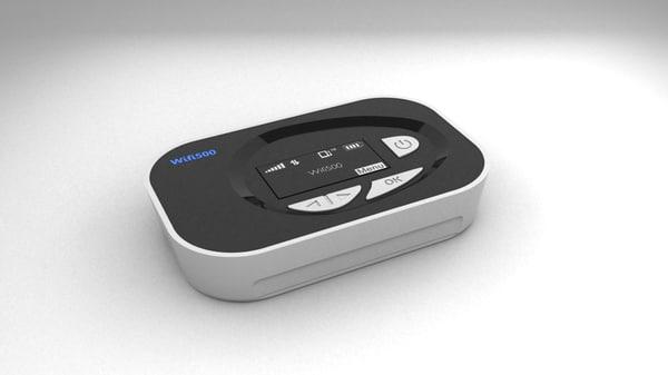 Mifi500 Wifi 3d model 3D Models