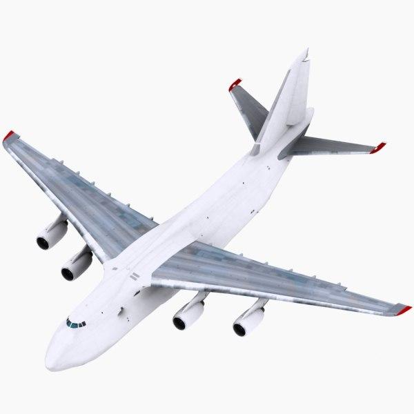 Antonov AN124 all white