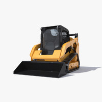 Skid Steer Loader 3D models