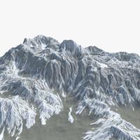 snow ground 3D models