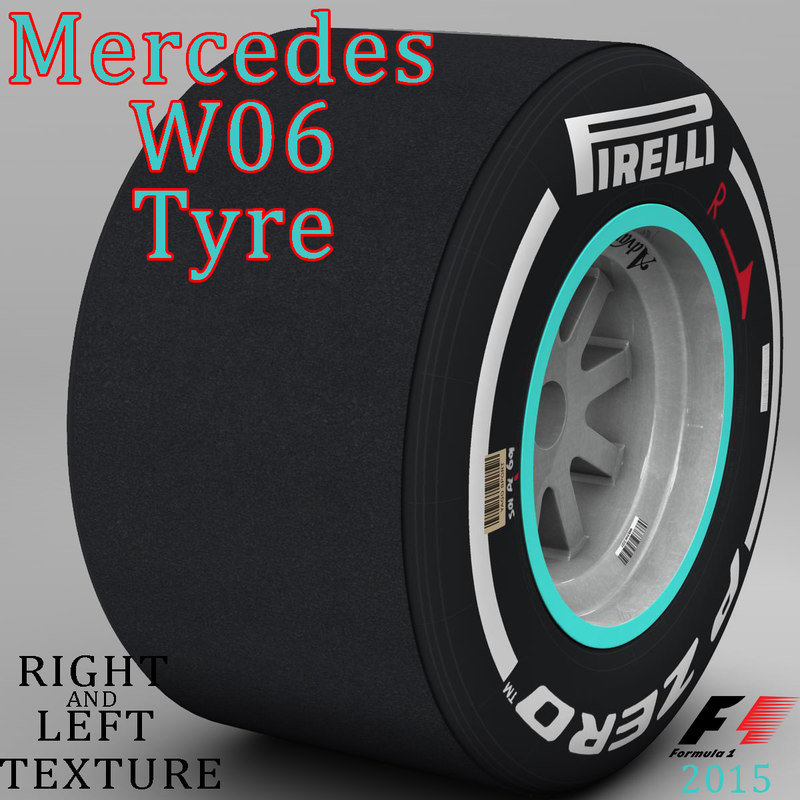 W06 Medium Rear tyre