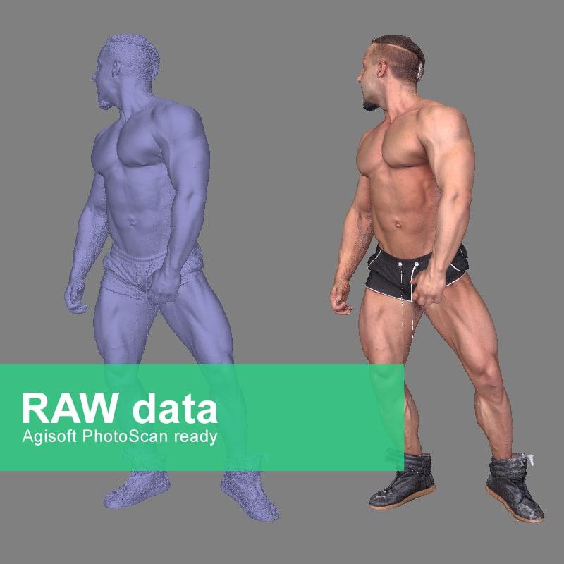 Photorealistic Bodybuilder