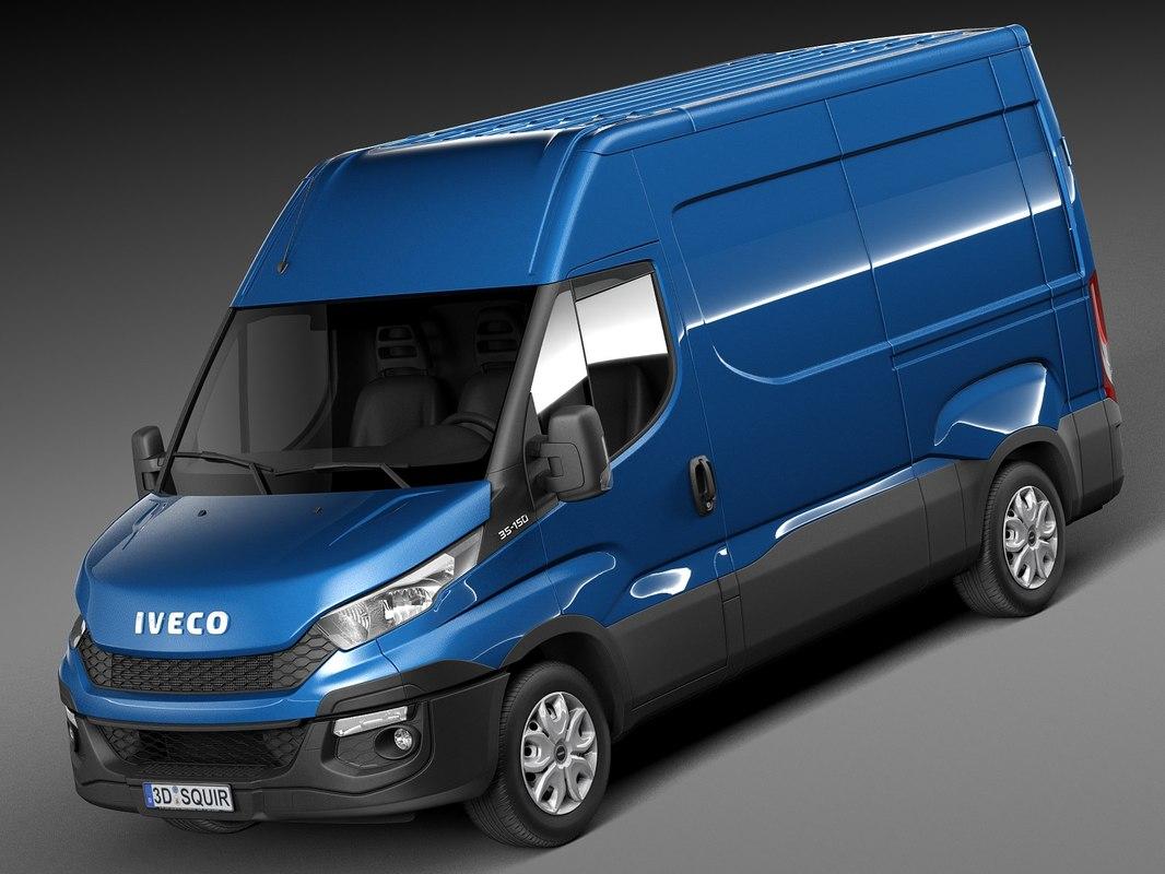 Iveco Daily 2015 Short Van