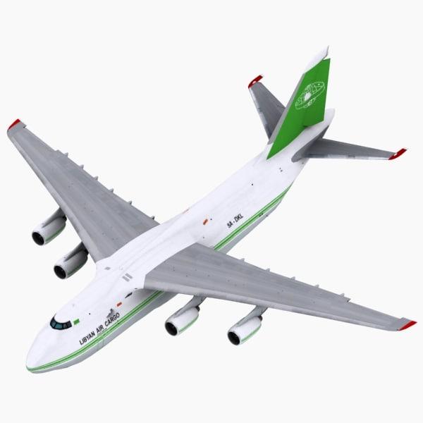 Antonov AN124 Libya