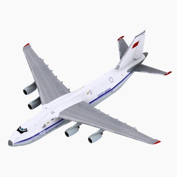 Antonov AN124 Aeroflot