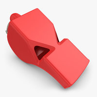 whistle 3D models