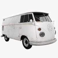 VW Type 3D models