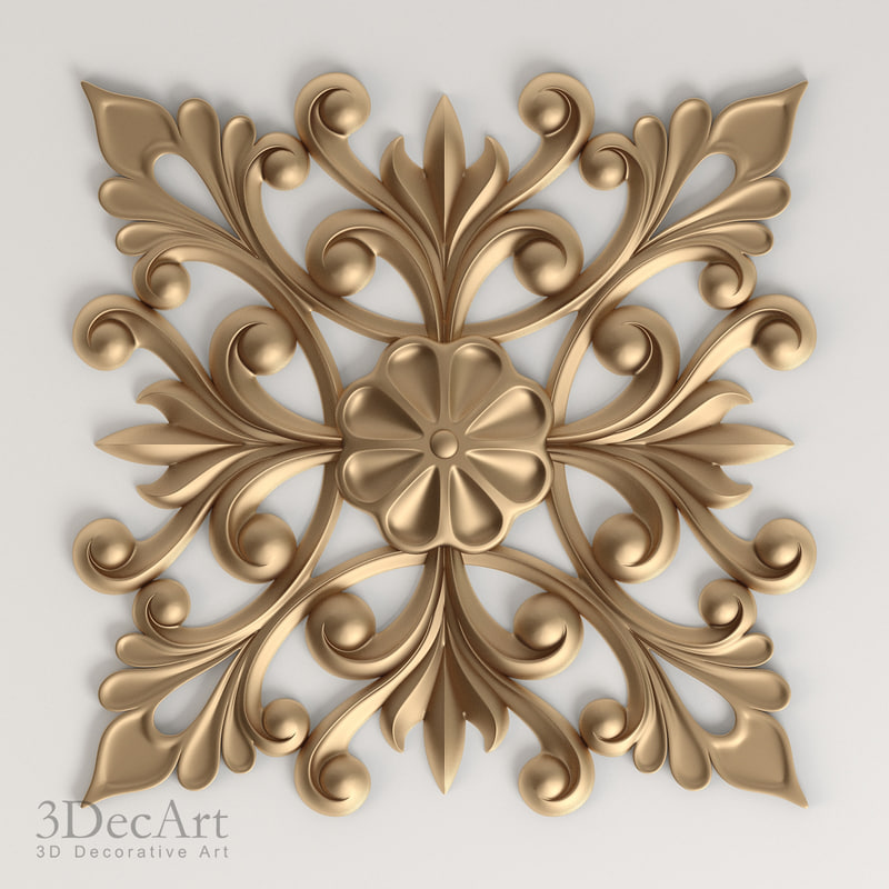 Square decor | Nk_002